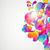abstrakten · hellen · Kreise · Bogen · Design · Hintergrund - stock foto © OlgaYakovenko