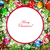 Navidad · diseno · navidad · corona · alegre · frontera - foto stock © olgayakovenko