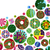 abstract · heldere · cirkels · communie · ontwerp - stockfoto © olgayakovenko