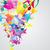 musical · arco-íris · notas · musicais · branco · música - foto stock © olgayakovenko