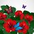 floral design background hibiscus flowers with butterflies stock photo © olgayakovenko