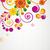 Gift card. Floral design background. stock photo © OlgaYakovenko