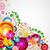 gift festive card floral design background stock photo © olgayakovenko