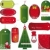twelve sets of christmas tags stock photo © olgayakovenko