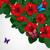 floreale · design · hibiscus · fiori · farfalle · texture - foto d'archivio © OlgaYakovenko