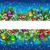クリスマス · クリスマスツリー · 陽気な · 明けましておめでとうございます · 水色 - ストックフォト © olgayakovenko