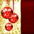 background with christmas balls vector illustration stock photo © olgayakovenko