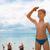 baby boy at beach stock photo © olira