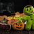 zencefilli · çörek · halloween · kurabiye · sevimli · sığ - stok fotoğraf © olira