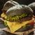 grande · cheeseburger · nero · alimentare · bar - foto d'archivio © olira