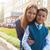 első · idő · első · osztály · boldog · iskolás · fiú · iskola - stock fotó © olira