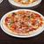クローズアップ · ピザ · サラミ · キノコ · 木材 · 健康 - ストックフォト © olira