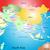 地図 · 日本 · 青 · パターン · 行 · ポイント - ストックフォト © olira