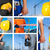 保護 · 要件 · 産業 · 職場 · にログイン - ストックフォト © olira
