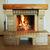 kandalló · láng · tűzifa · égő · tűz · fa - stock fotó © olira
