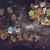 ahşap · zencefilli · çörek · kurabiye · beyaz · dekorasyon · Noel - stok fotoğraf © olira