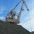crane at heap of gravel stock photo © olira
