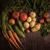 knoflook · oranje · houten · tafel · gezondheid · voedsel - stockfoto © olira