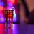 primo · piano · whiskey · shot · ghiaccio · vetro · sfondo - foto d'archivio © olira
