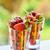 マクロ · イチゴ · テクスチャ · 赤 · 食品 - ストックフォト © olira