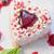 heart shaped valentine cake stock photo © olira