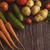 olgun · sebze · ahşap · masa · sağlıklı · beslenme · vejetaryen · yemek - stok fotoğraf © olira