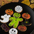 homemade delicious ginger biscuits for halloween stock photo © olira