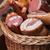 薫製 · 肉 · 製品 · 市場 · 肉屋 · ショップ - ストックフォト © olira