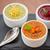 refreshing lemon cranberry seabuckthorn sorbet stock photo © olira