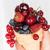 mulher · oferta · mirtilos · fresco · maduro · orgânico - foto stock © olira