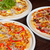 italiano · pizza · tocino · salami · mozzarella · queso - foto stock © olira