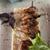 BBQ · mięsa · warzyw · zielenina · zielone · Sałatka - zdjęcia stock © olira
