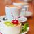 桜 · チーズケーキ · 孤立した · 白 · 食品 · フルーツ - ストックフォト © olira