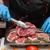 handen · vlees · keuken - stockfoto © olira
