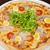 pizza · tavuk · mantar · İtalyan · mutfak · beyaz - stok fotoğraf © olira