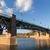 Garonne River and bridge Saint-Pierre in Toulouse, France stock photo © oliverfoerstner
