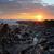 sunset woolacombe north devon coast stock photo © ollietaylorphotograp