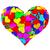a · forma · di · cuore · rosso · nastri · isolato · bianco · alto - foto d'archivio © oneo