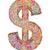 dollár · valuta · ikon · stílus · pénzügy · színpad - stock fotó © oneo