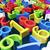 kleur · nummers · veel · aantal - stockfoto © Onyshchenko