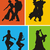 swing · dansers · dansen · paar · muziek · man - stockfoto © oorka