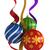 renkli · Noel · cam · yalıtılmış · beyaz - stok fotoğraf © oorka