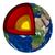 ядро · земле · 3d · визуализации · мира · видимый · Мир - Сток-фото © oorka