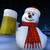 снеговик · 3d · визуализации · снега · ночь · смешные - Сток-фото © oorka