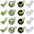 verde · illustrazione · design · segno · successo · bianco - foto d'archivio © opicobello