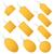 set of yellow hangtags stock photo © opicobello