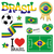 brasil · 2014 · mundo · futebol · campeonato · abstrato - foto stock © opicobello