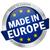düğme · afiş · Avrupa · web · bayrak · hizmet - stok fotoğraf © opicobello