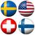 voetbal · vlaggen · wereld · kampioenschap · 2014 · geïsoleerd - stockfoto © opicobello