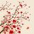 stijl · schilderij · pruim · bloesem · voorjaar - stockfoto © ori-artiste